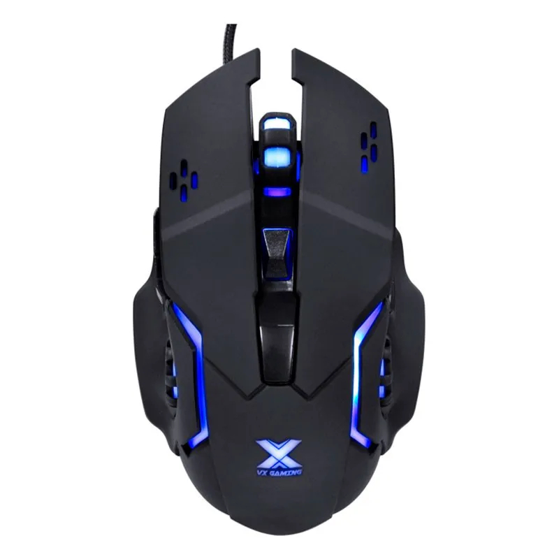 Mouse Gamer VX Gaming Vinik Galatica 2400DPI C/ Led Azul