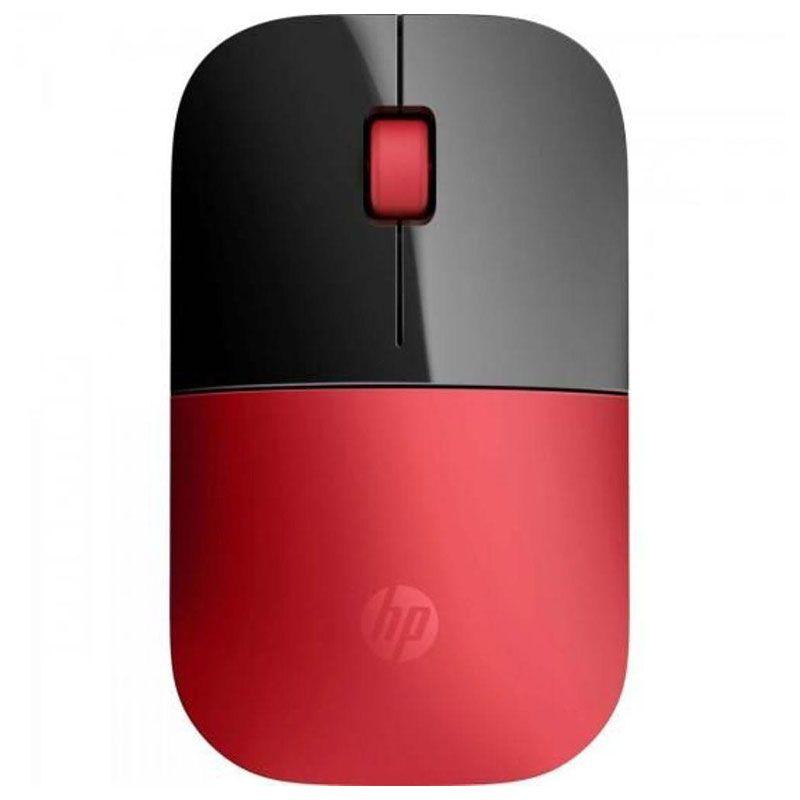 Mouse HP Sem Fio Z3700 Vermelho