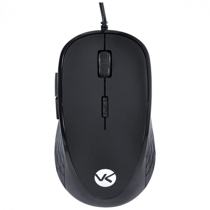 Mouse Óptico Silent Vinik 2000DPI Silencioso USB SM100 Preto