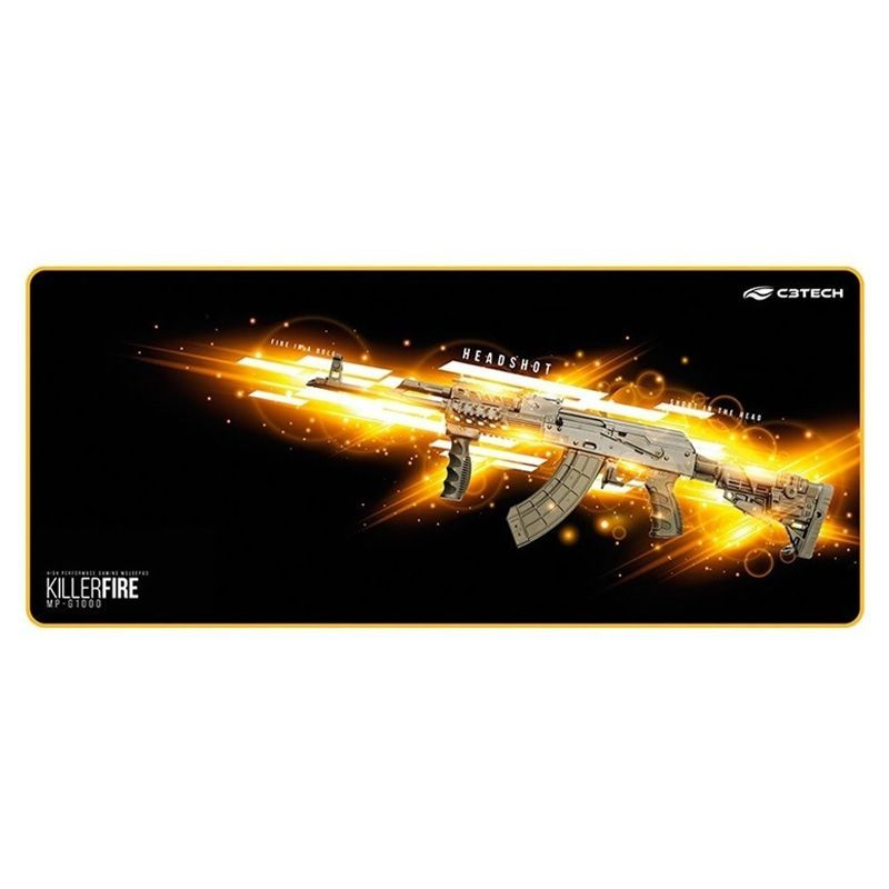 Mouse pad Gamer C3 Tech KillerFire MP-G1000