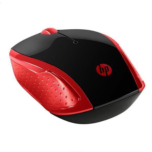 Mouse Sem Fio Hp X200 Oman Wireless Vermelho