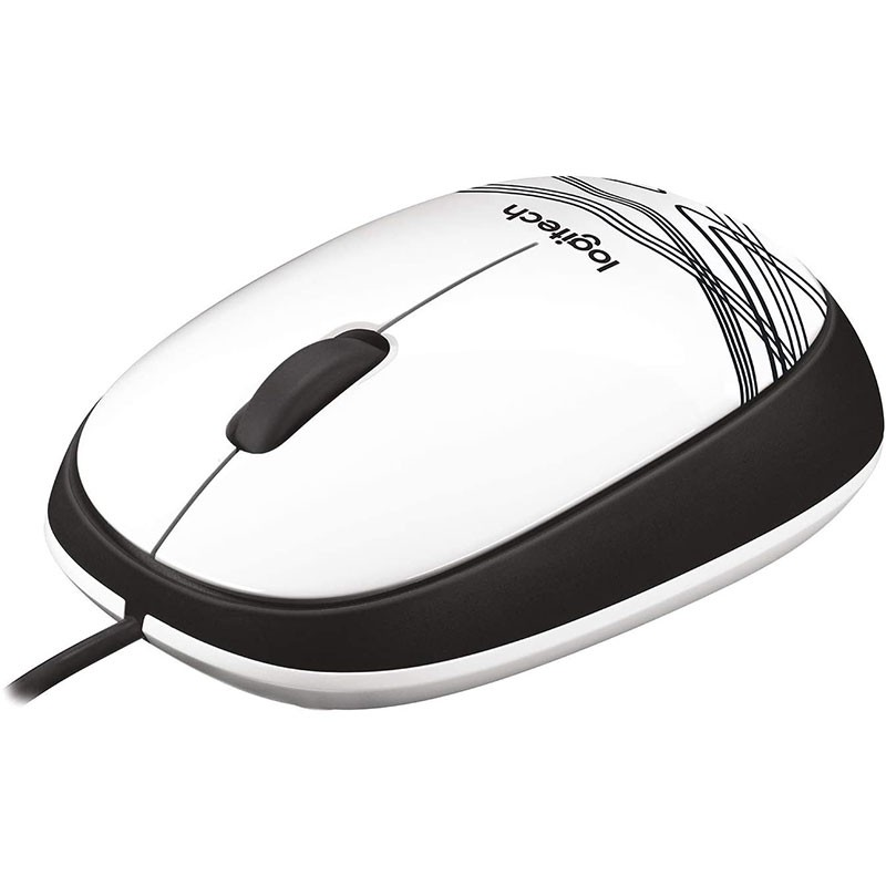 Mouse Sem Fio Logitech M105 1000DPI 910-003138 Branco