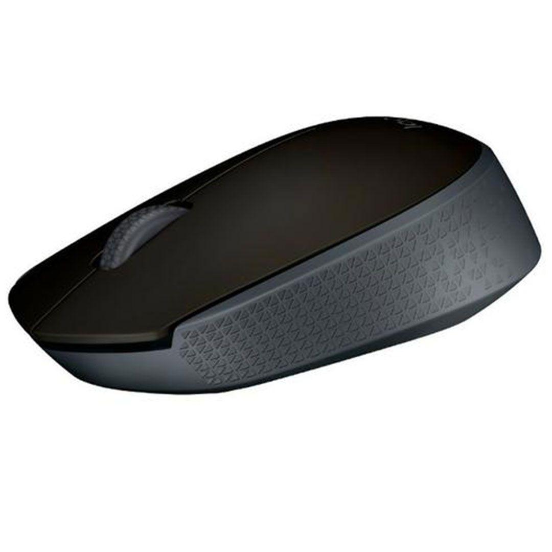 Mouse Sem Fio Logitech M170 Preto Wireless