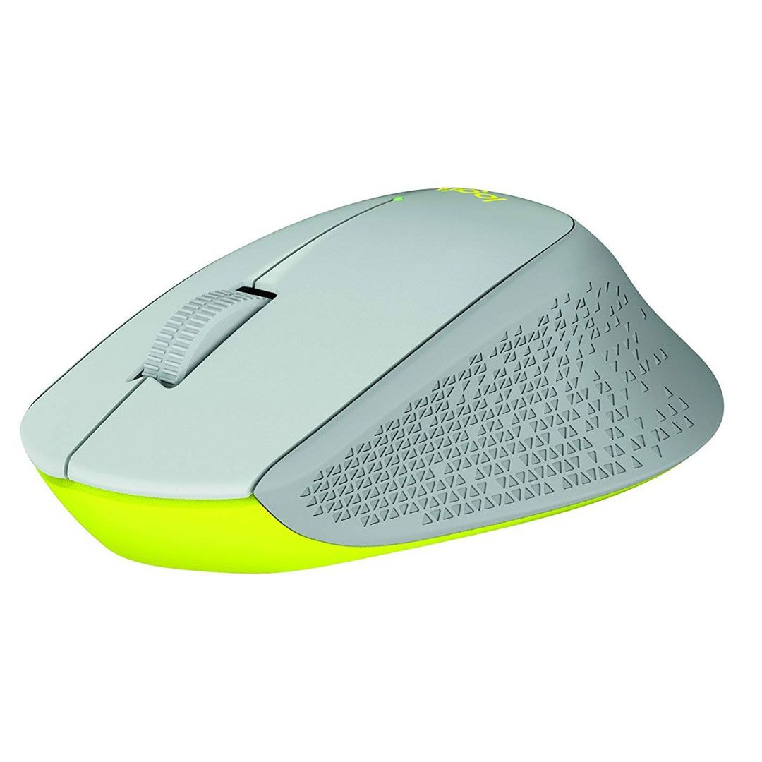 Mouse Sem Fio Logitech M280 Nano Cinza