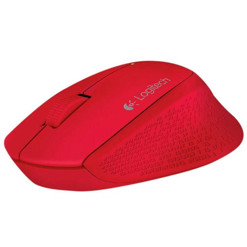 Mouse Sem Fio Logitech M280 Óptico Nano Vermelho