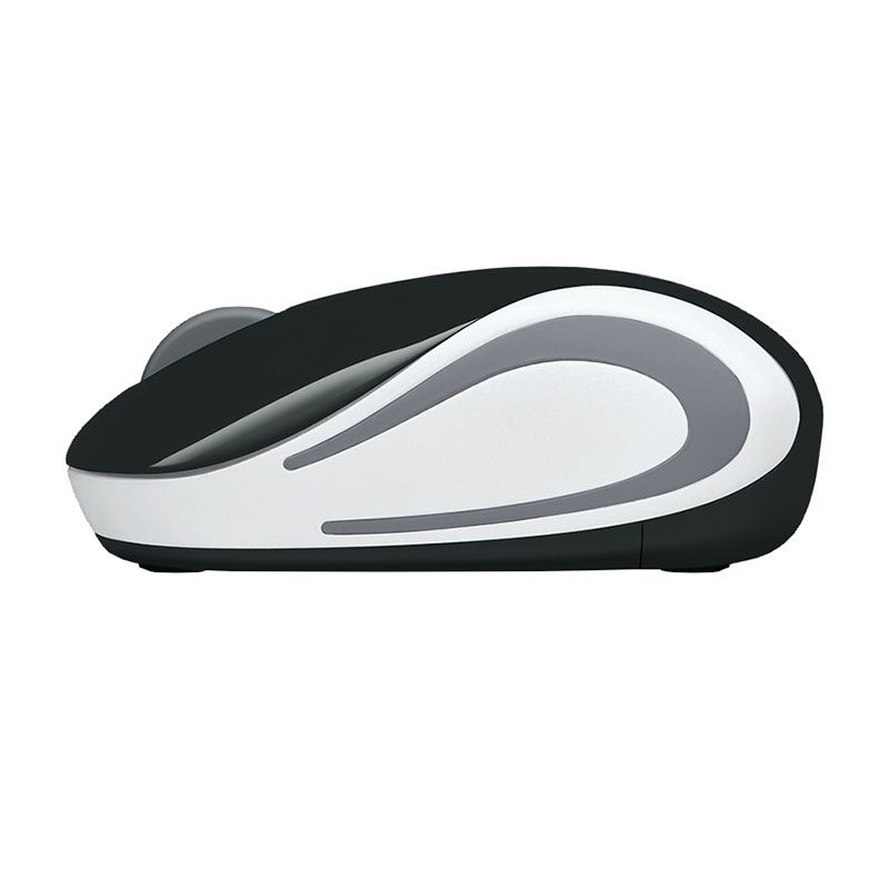 Mouse Sem Fio Mini Logitech M187 1000Dpi Preto