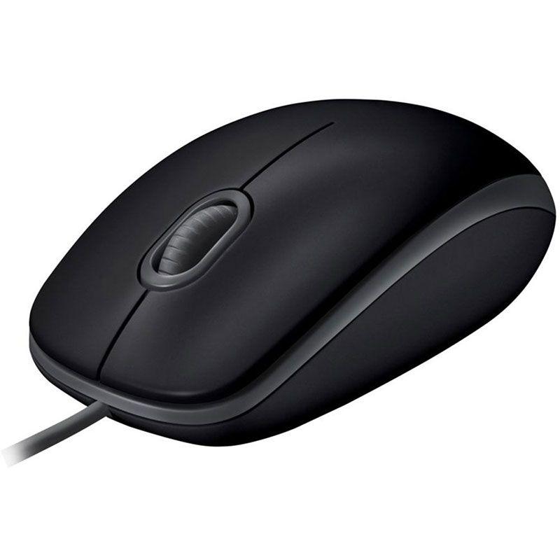 Mouse USB Logitech M110 Silent 1000Dpi Preto