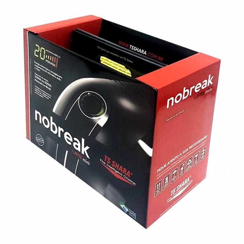Nobreak UPS Mini 500VA TS Shara 6 Tomadas Bivolt