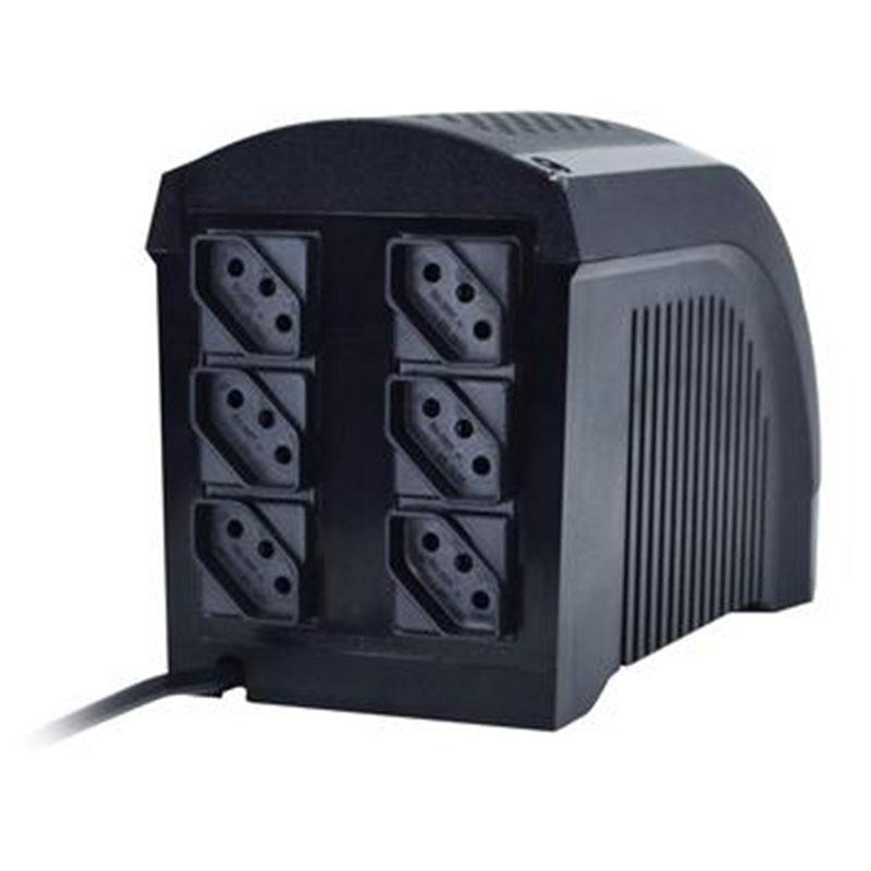 Nobreak UPS Mini 600VA Ts Shara 6 Tomadas Bivolt