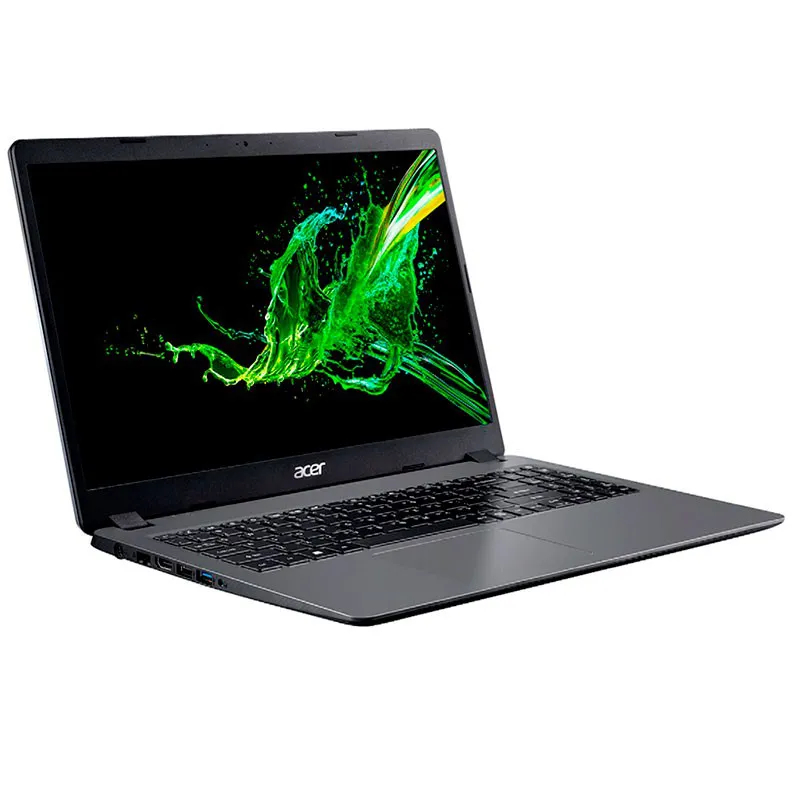 Notebook Acer Aspire 3 I3, 4GB, SSD 256GBM 15,6 Win 10 Cinza