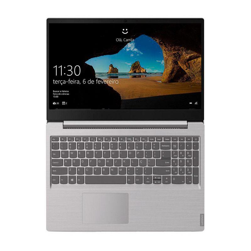 Notebook Lenovo S145 15.6 I3, 4GB 1TB 81XMS00000 Prata Linux