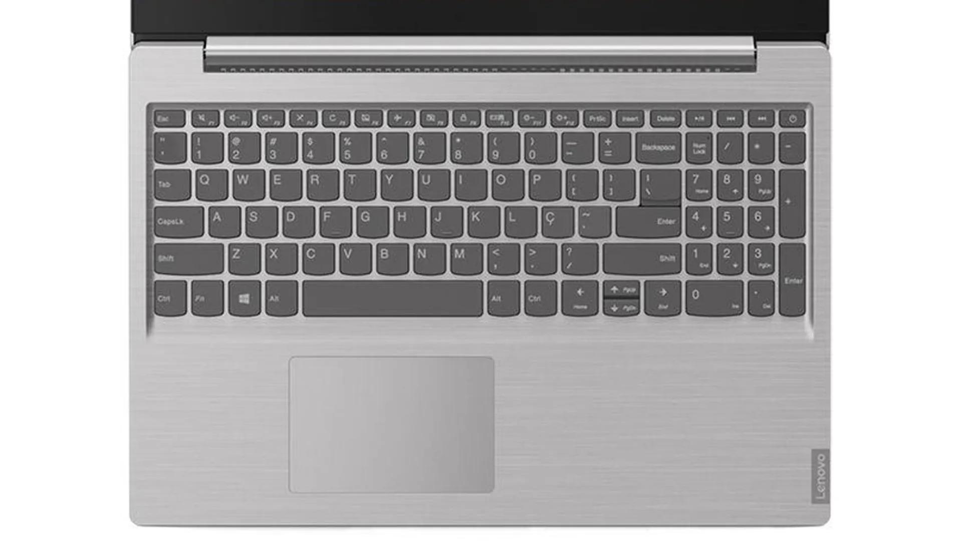Notebook Lenovo S145 i5, 8GB 1TB 15,6' 82DJ0001BR Prata Win10