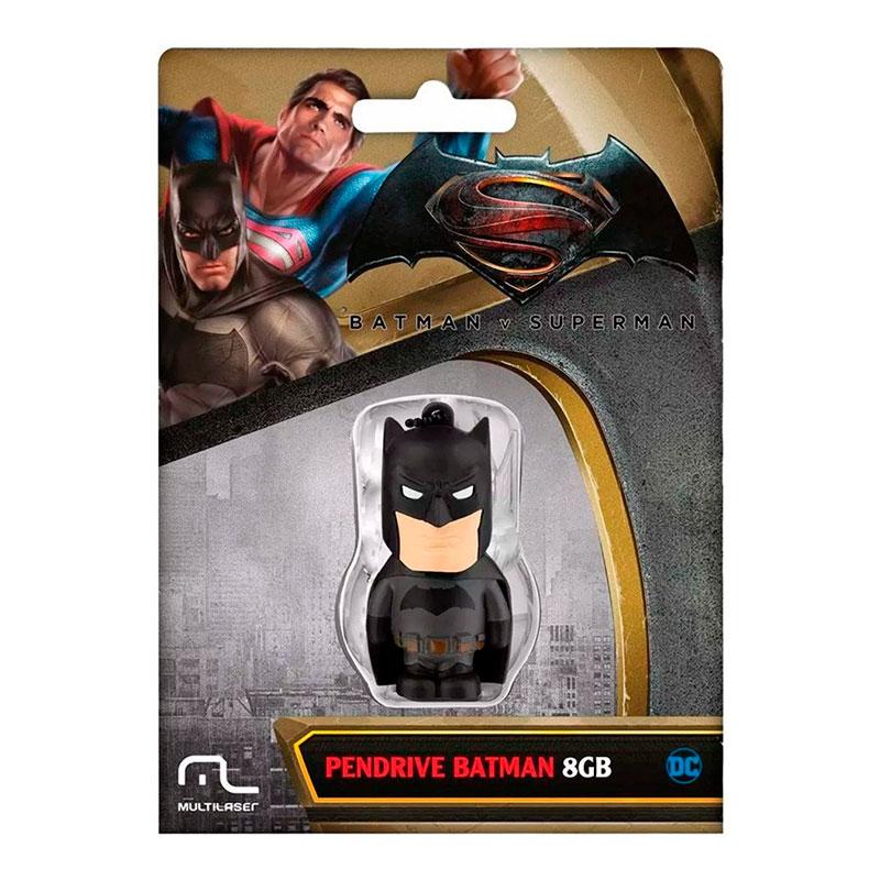 Pen Drive 8GB Multilaser DC Comics Batman PD085