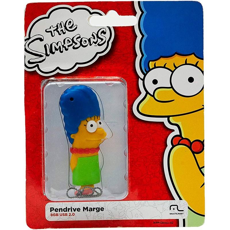 Pen Drive Multilaser Dc Comics Simpsons Marge 8GB PD073