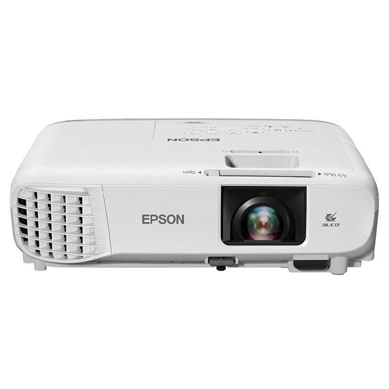 Projetor Epson Powerlite S39 3300 Lumens SVGA HDMI V11H854024 Branco