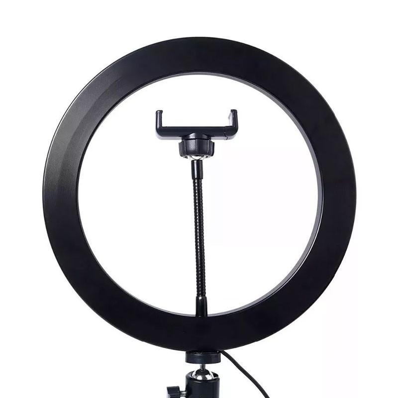Ring Light Grande Rohs Com Suporte e Controlador de Led USB