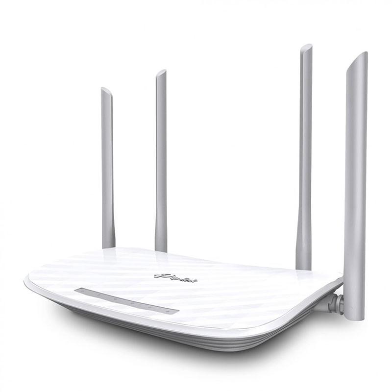Roteador Wireless Tp-Link C50 Gigabit 4 Portas Dual Band AC1200 Archer