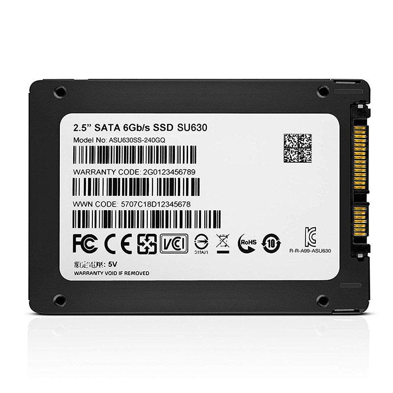 SSD Adata 240GB SU630 SATA III 2.5 520 Mb/s -  ASU630SS240GQR