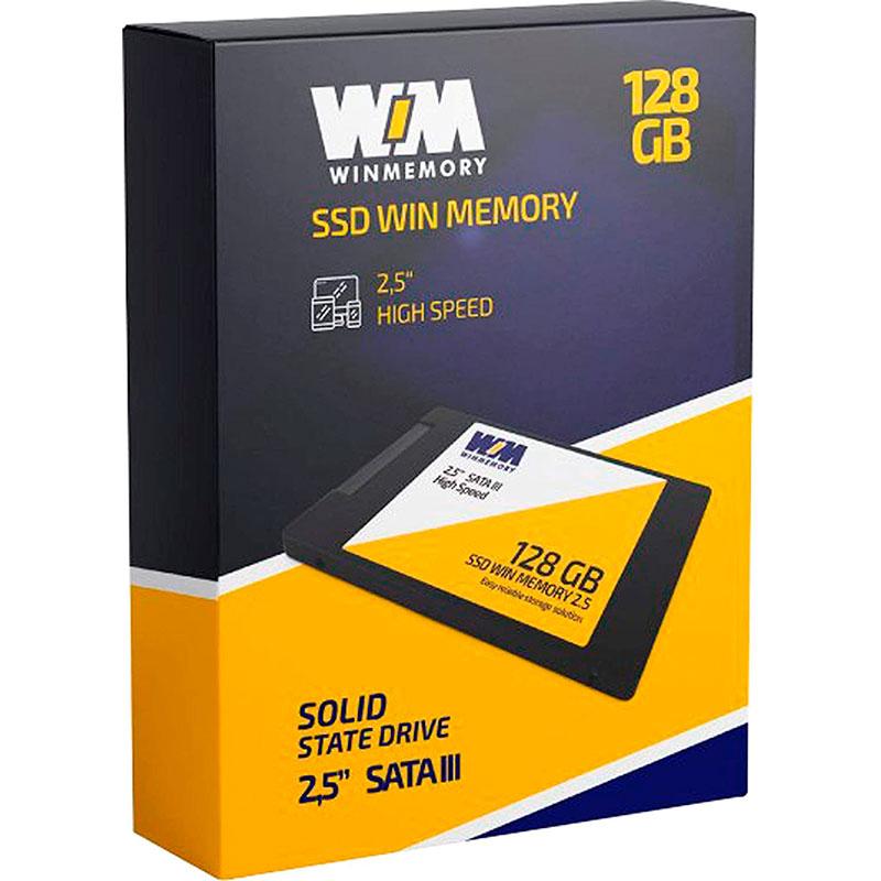 SSD Winmemory 128GB Sata3 2.5 7MM SWR128G