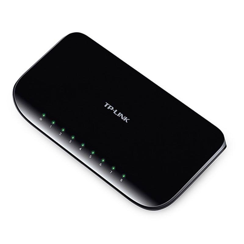 Switch 8 Portas Tp-Link 10/100/1000 Gigabit TL-SG1008D