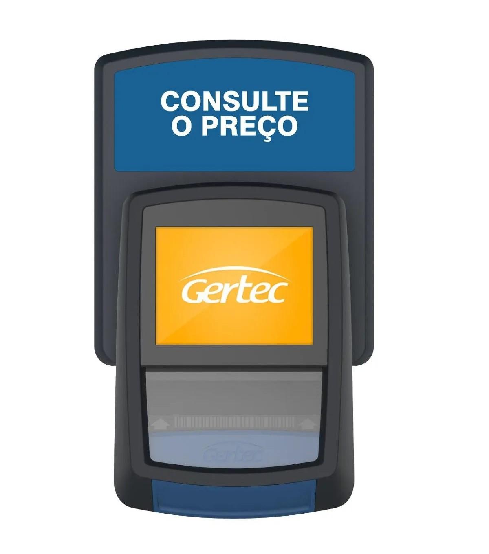 Terminal de Consulta Busca Preço Gertec G2 Ethernet e Wi-fi