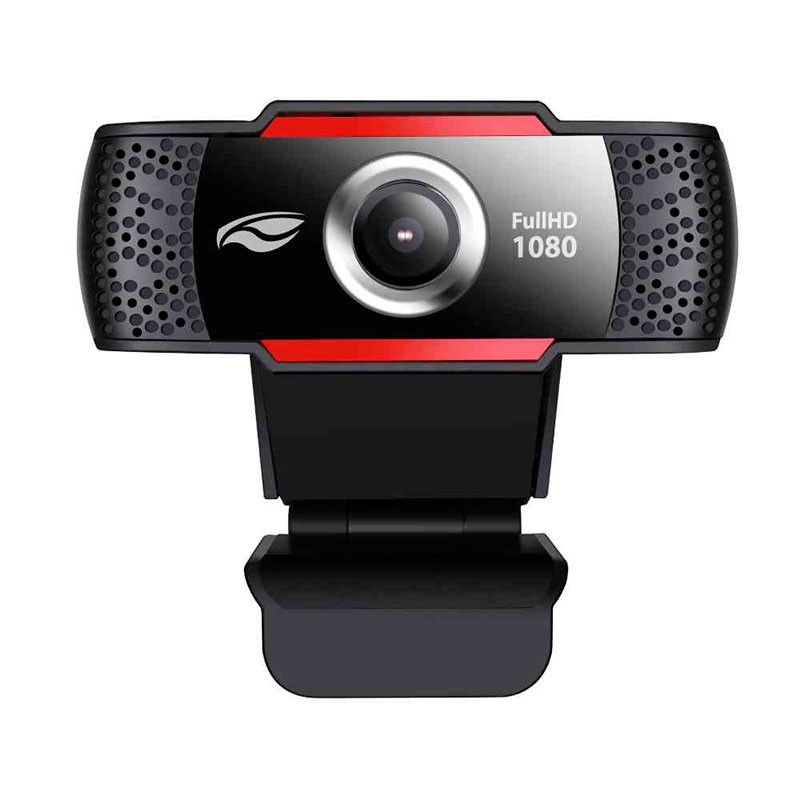 Webcam C3 Tech Full HD Wb-100BK 1080p