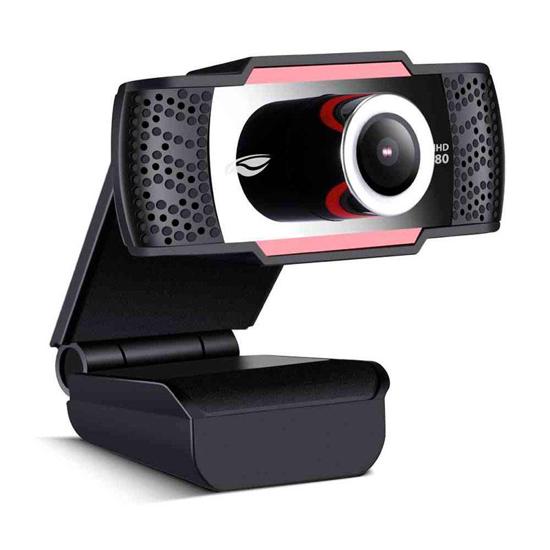 Webcam C3 Tech Full HD Wb-100BK 1080p