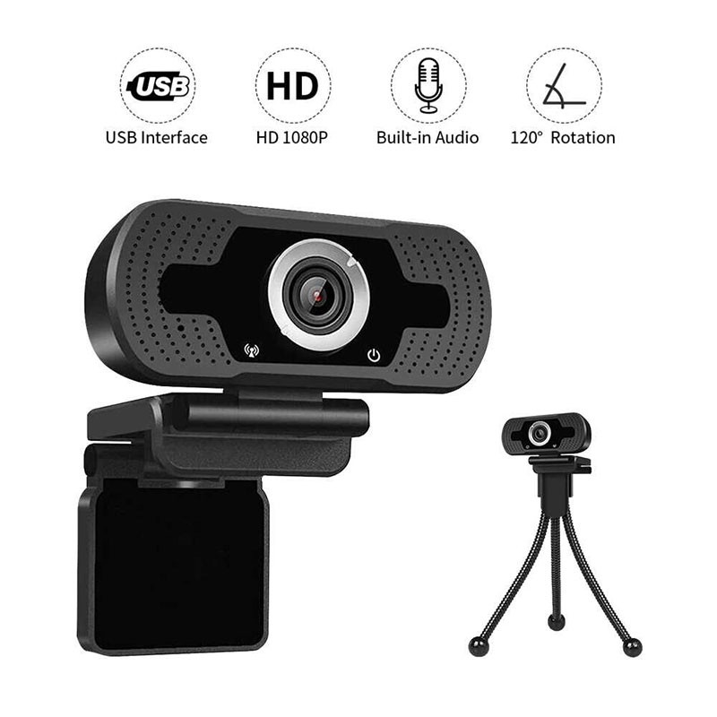 WebCam Loosafe Full HD 1080p USB Com Tripé LS-F36-1080PXM