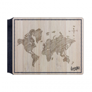 Carteira Wide - Mapa Mundi