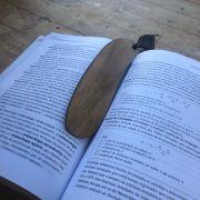 Marcador de Página de madeira