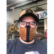 Máscara de Madeira Reutilizável