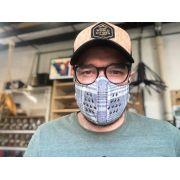 Máscaras de Tecido - Xadrez Reutilizável