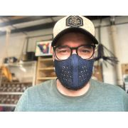 Máscaras de Tecido Jeans Reutilizável