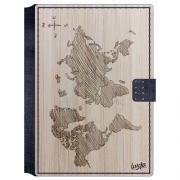 Porta Passaporte - Mapa Mundi