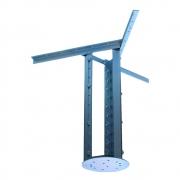 Extensor ajustável para teto com forro de gesso - 60 a 96 cm
