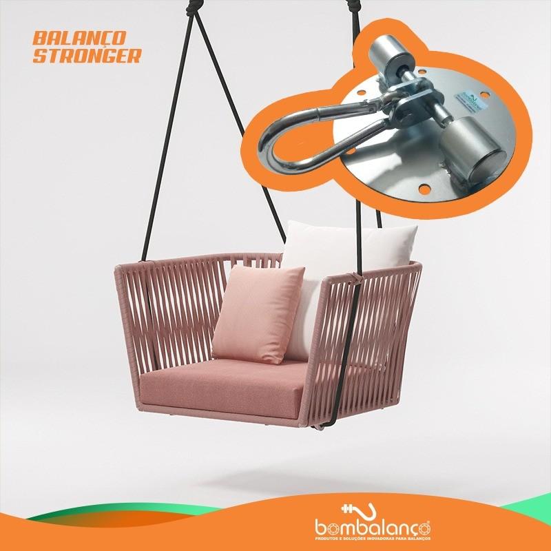Balanço Stronger para chaise suspensa sem parafusos
