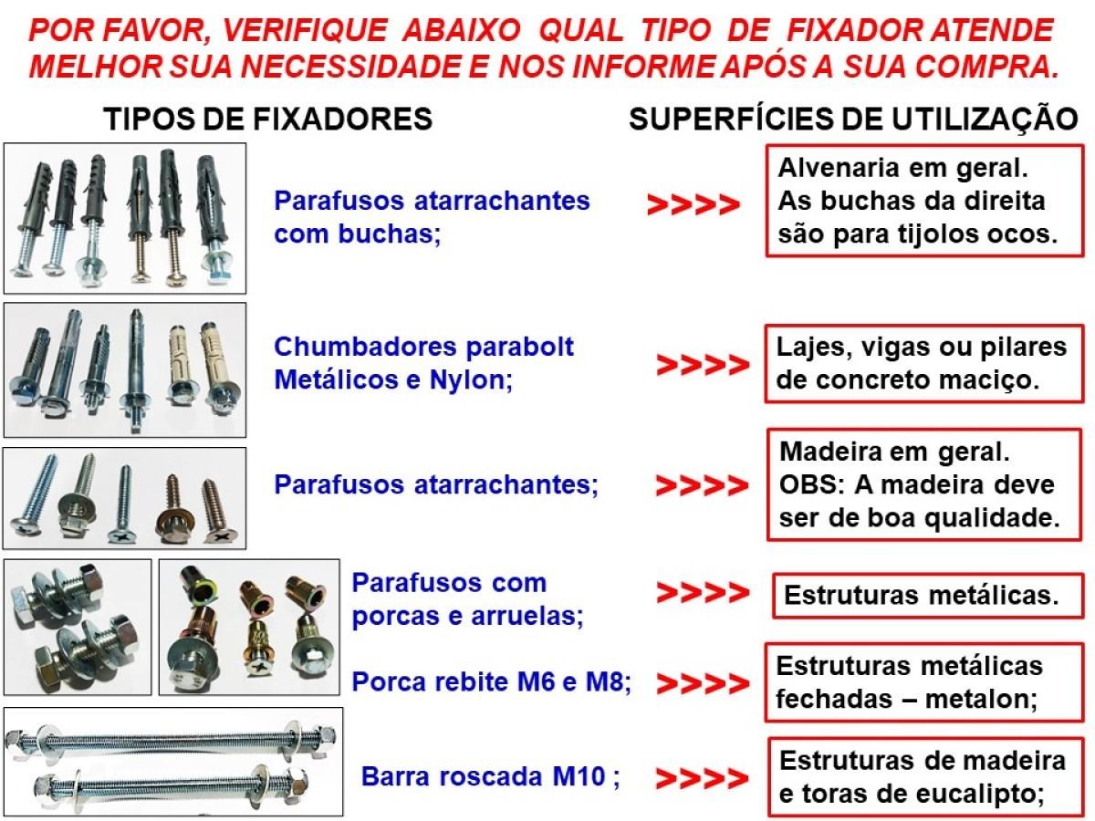 Gancho giratório para cadeira de balanço suspensa zincado - suporte ajustável para vigas de 5 a 8 cm