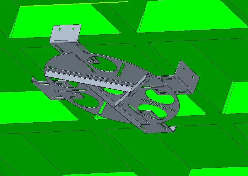 Kit adaptador redondo para lajes nervuradas + extensor 37 a 60 cm - espessura da nervura 10 a 20 cm
