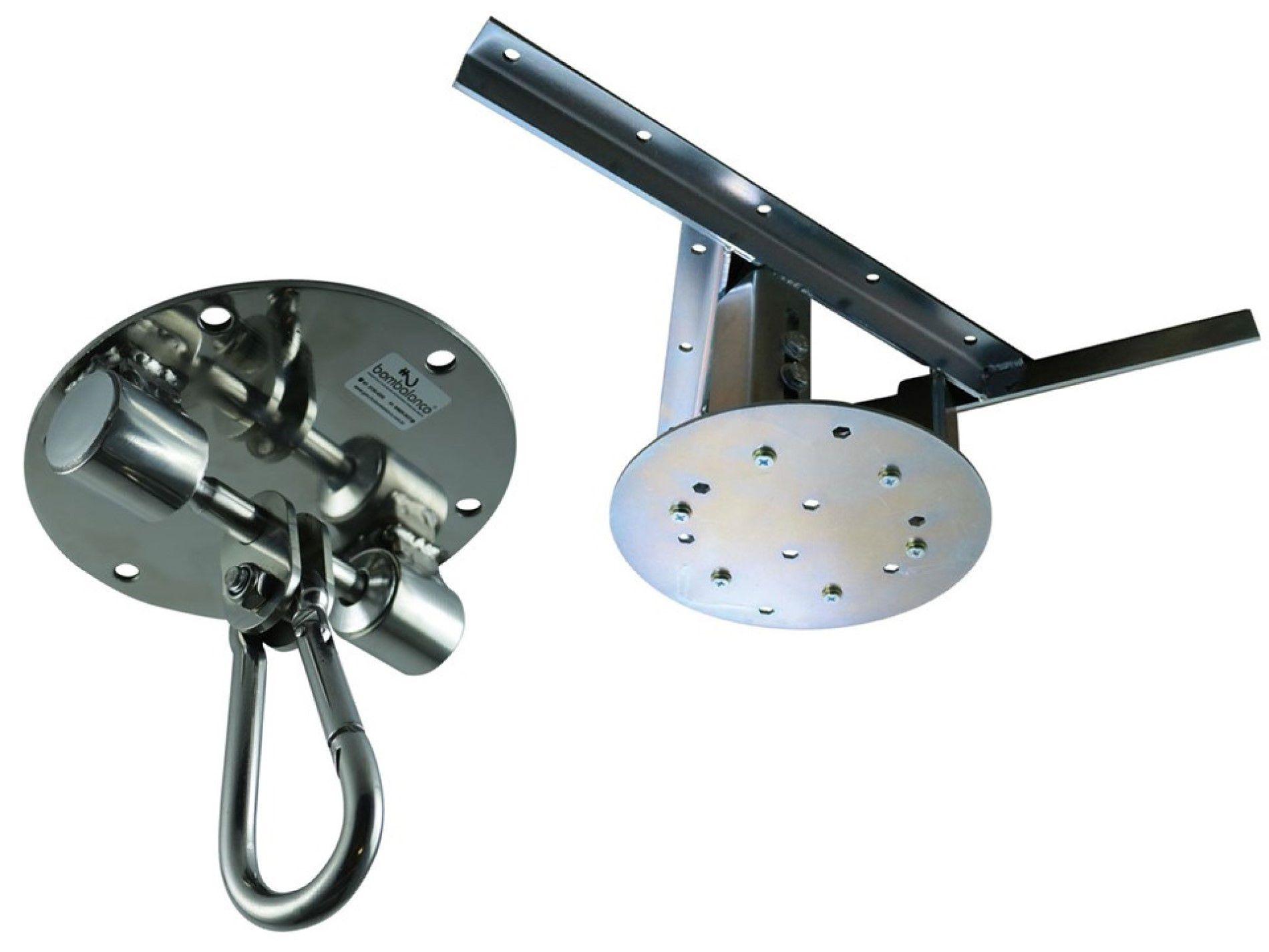 Kit extensor ajustável para teto com forro de gesso - 37 a 60 cm + balanço Stronger - capacidade 300 kg