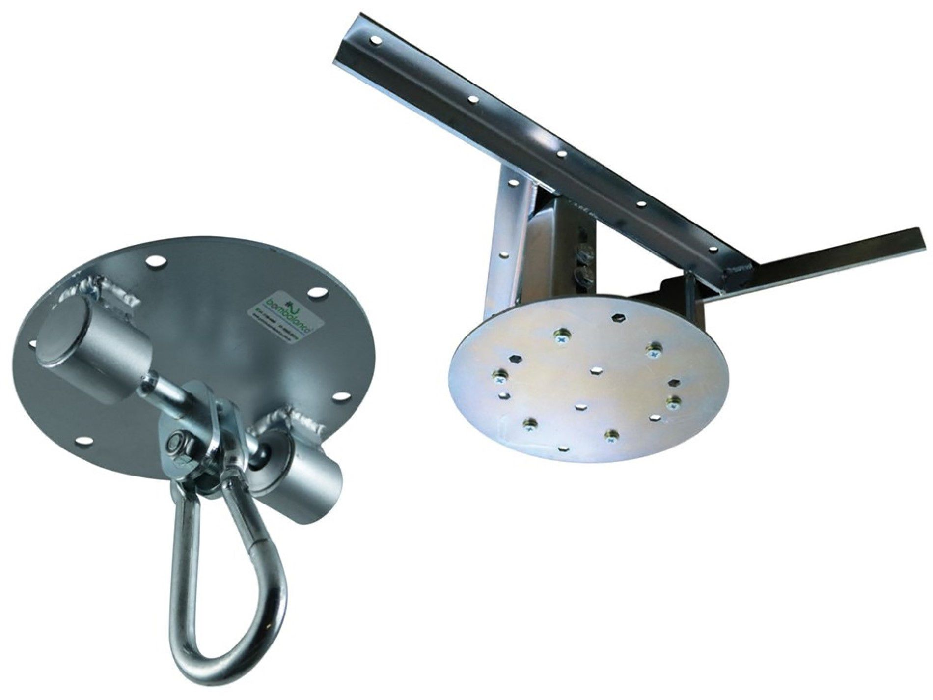 Kit extensor ajustável para teto com forro de gesso - 60 a 96 cm + balanço Stronger - capacidade 300 kg