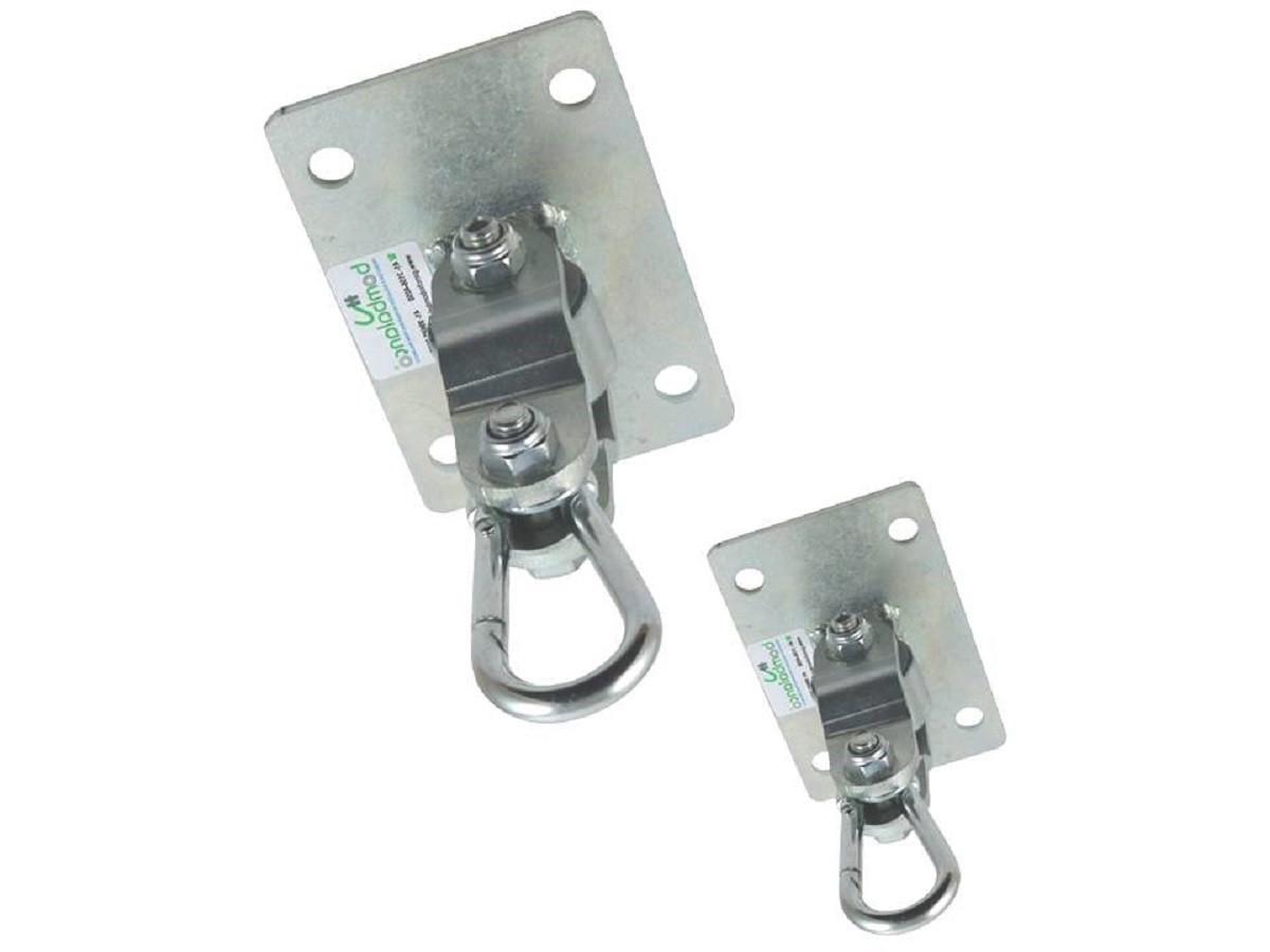 Par de balanço compacto chapa retangular Seguro & Silencioso - (capacidade 100 kg) - Fique em casa / instale em casa / brinque em casa