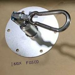 Pedido Fabienne - ARQ -  Kit extensor ajustável para teto com forro de gesso - 11 a 15 cm + mosquetão giratório