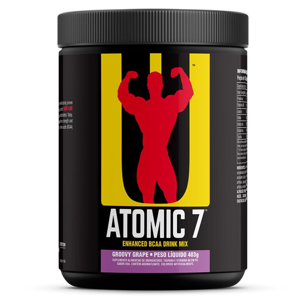 Atomic 7: BCAAs + Taurina + Glutamina