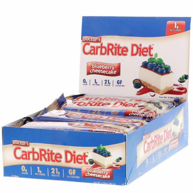 Barra de Proteina Carbrite Blueberry (Caixa com 12)