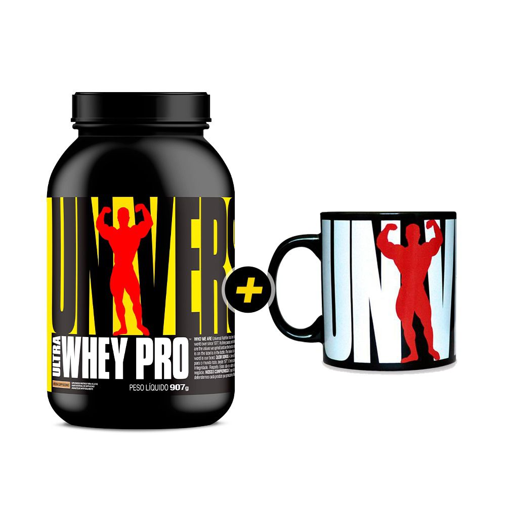 Ultra Whey Pro Mocha Cappuccino + Caneca Universal