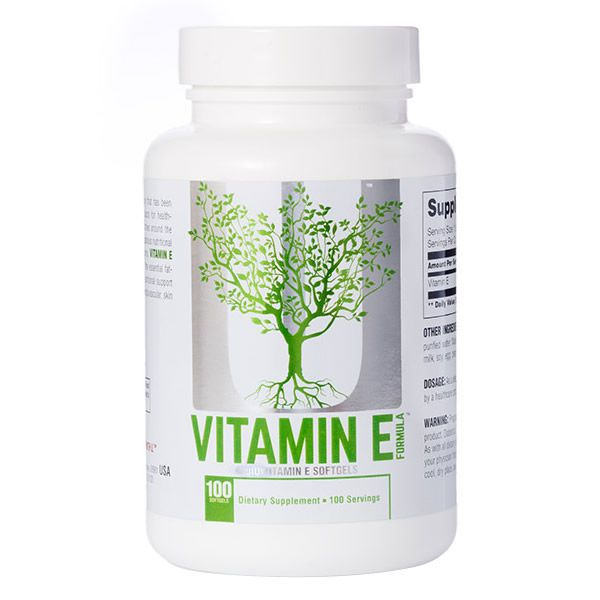 Vitamina E 400IU - 100 softgels