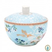 Açucareiro Hummingbirds Azul Pip Studio - Floral
