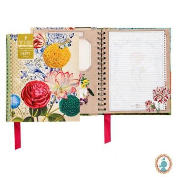 Caderno A5 WireO - Wild Flowerland
