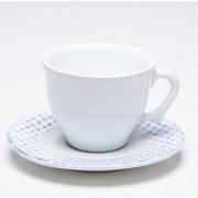 Conjunto 06 Xícaras de Chá Provence Abacaxi