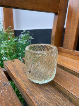 Cristal de Murano com Pó de Ouro 24K